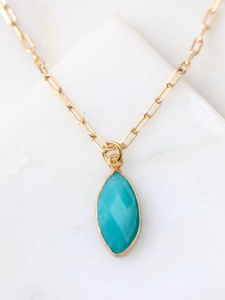 Amazonite Dainty Necklace