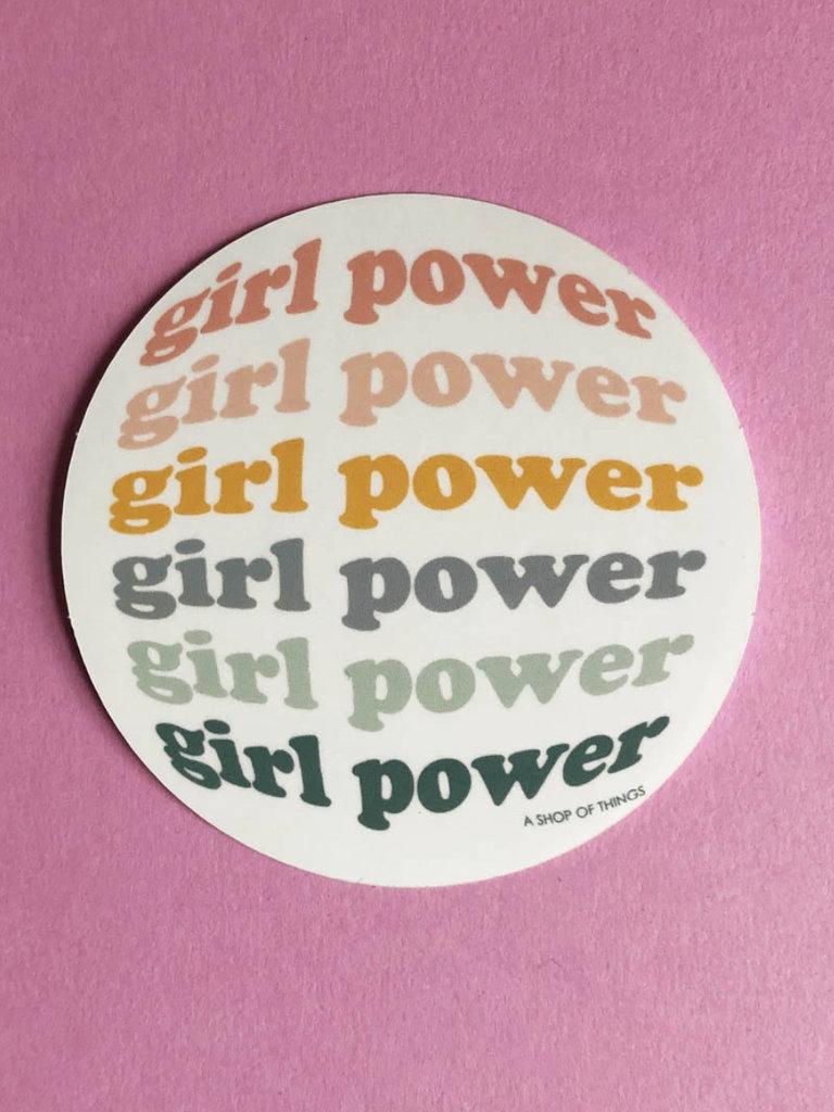 Girl Power Sticker