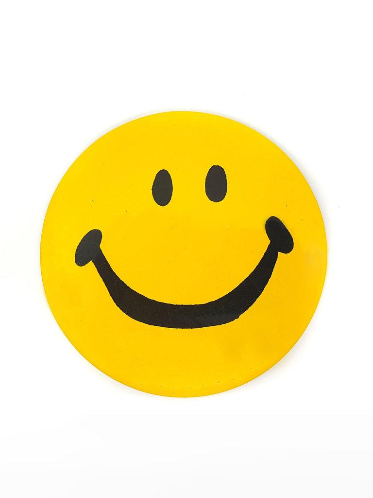 Vintage Smiley Button