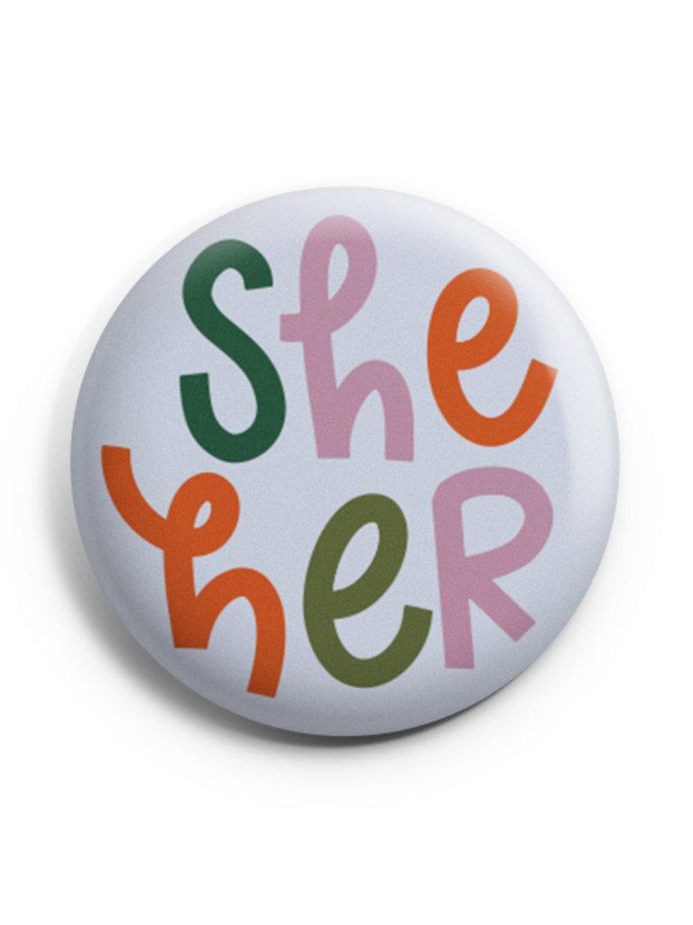 Pronoun Button