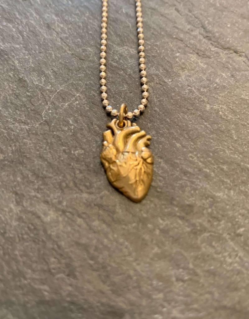 Arrok Metal Studio Arrok Anatomical Heart Charm