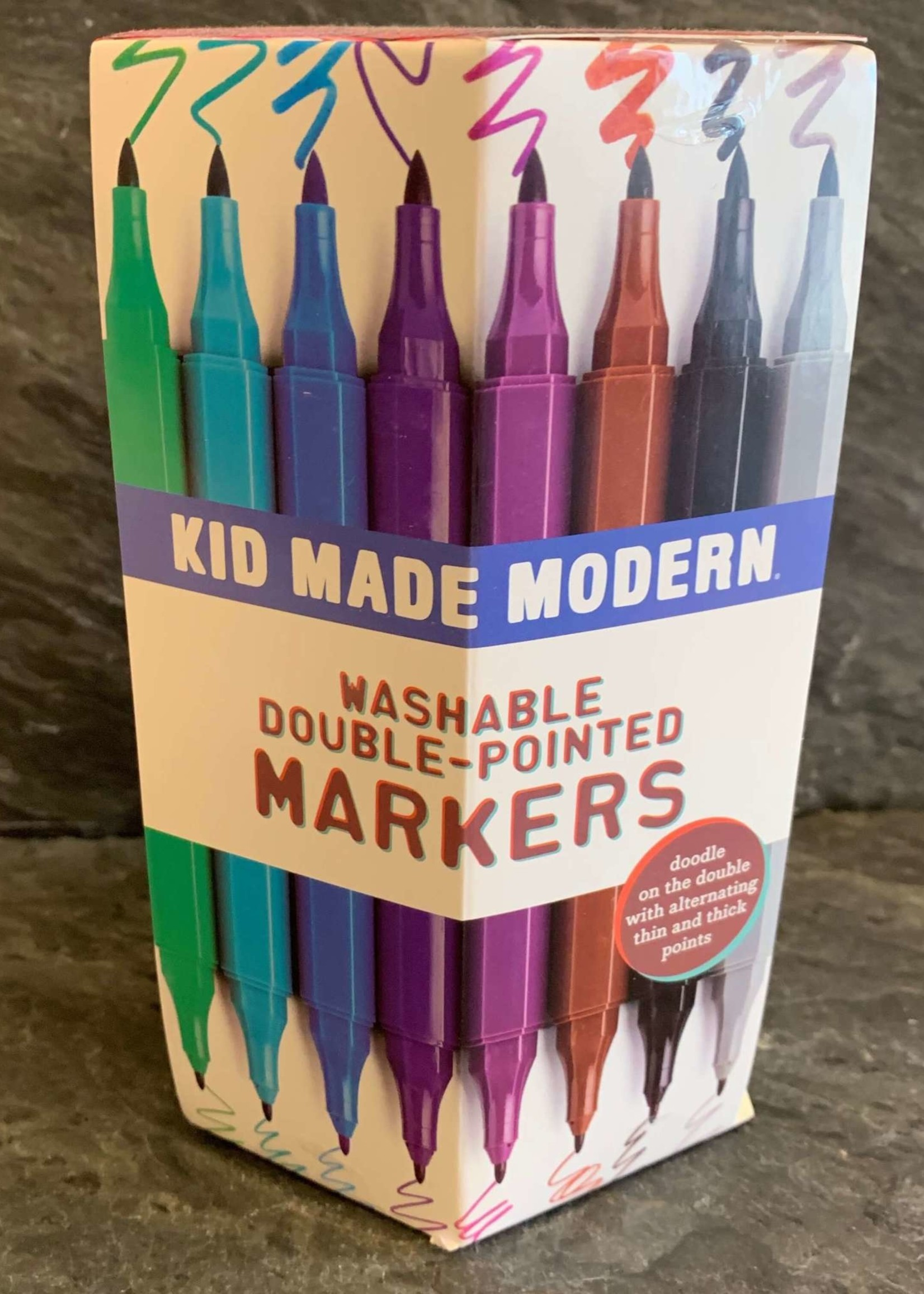Kids Made Modern Kid Made Modern Double Pointed Washable Markers 30 Count
