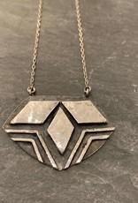 Denise Heffernan Denise Heffernan Treble Sterling Silver Necklace