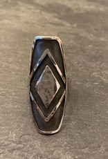 Denise Heffernan Denise Heffernan Four Corners Ring Size 8