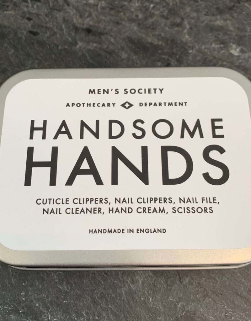 The Men's Society Handsome Hands Manicure Kit