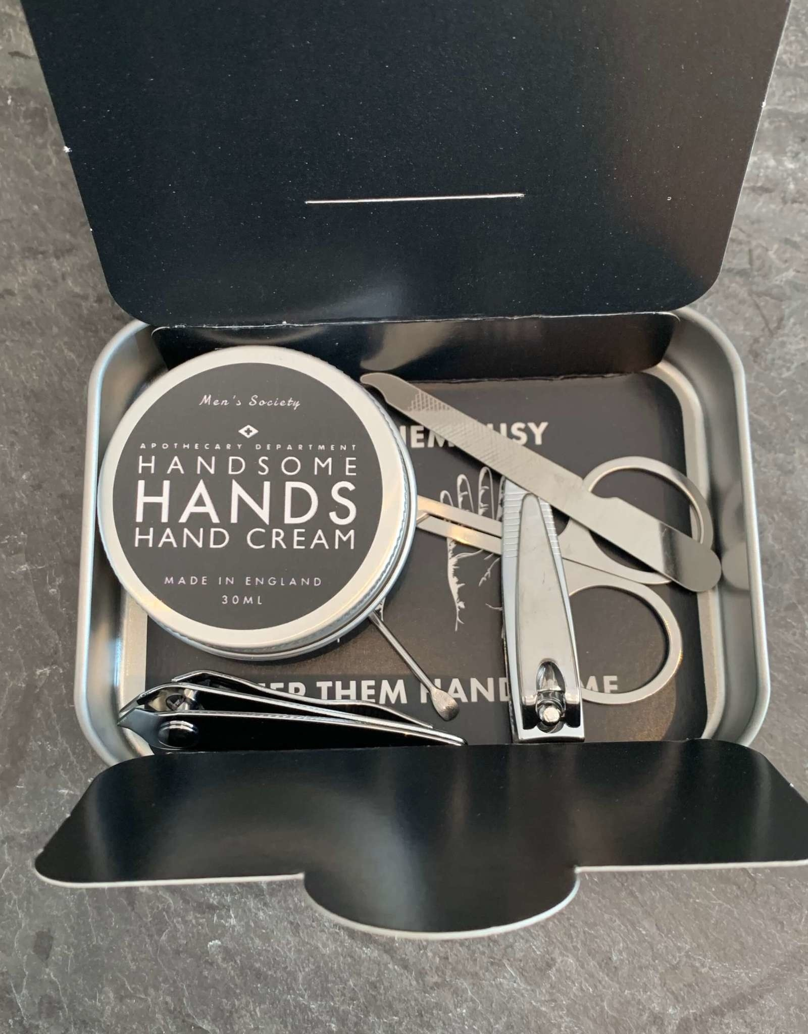 The Men's Society Men's Society Handsome Hands Manicure Kit