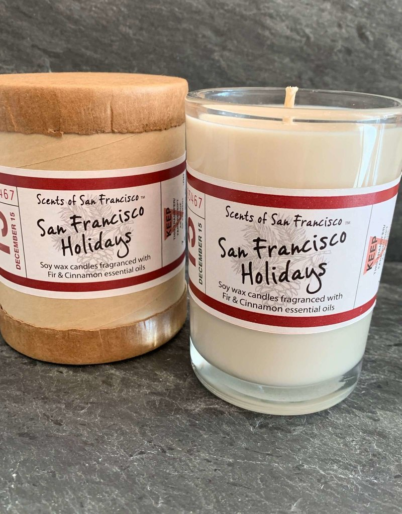 Destination Fragrances San Francisco Holidays Candle - 8oz/50hr