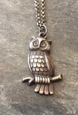 Arrok Metal Studio Arrok Metal Studio Owl Necklace
