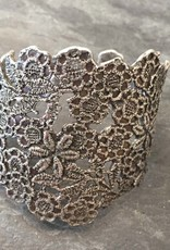 Carolyn Simon Design Carolyn Simon Design Sterling Silver Botanical Lace Cuff