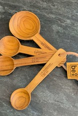 Be Home Be Home Teak Measuring Spoons S/4