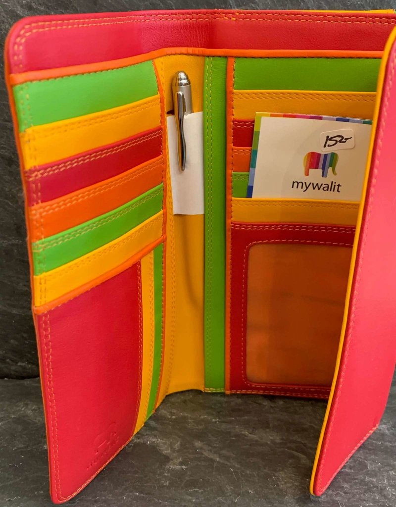 MyWalit MyWalit Tri-fold With Outer Zip in Jamaica