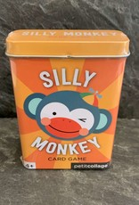 PetitCollage Petit Collage Silly Monkey Card Game