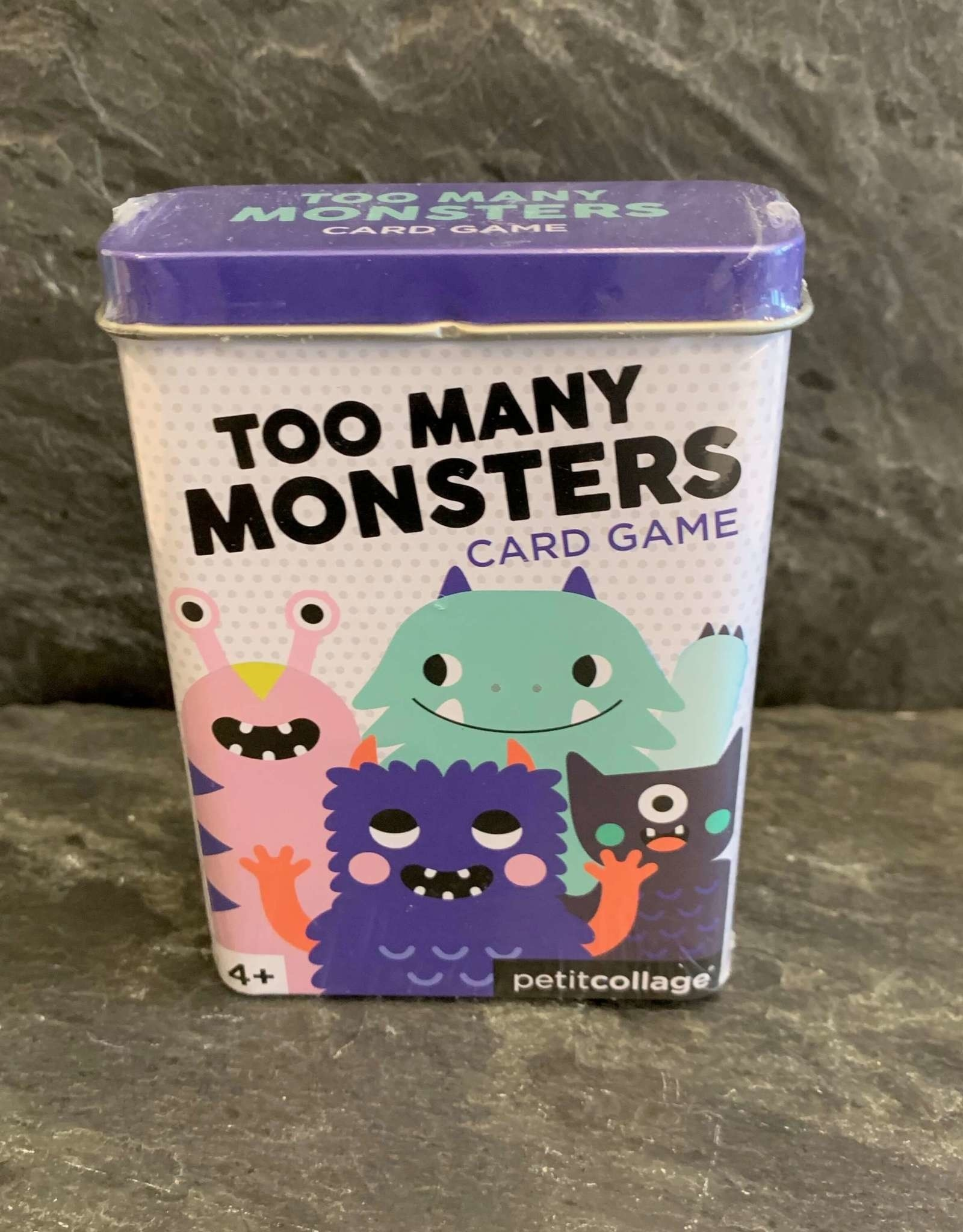 PetitCollage Petit Collage Too Many Monsters Card Game