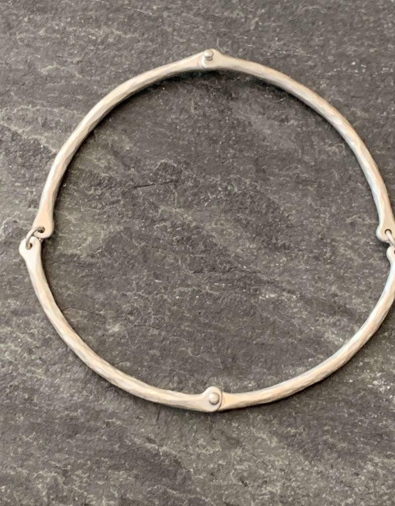 Hilary Finck Jewelry Hilary Finck Rivet & Ring Bangle SS