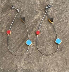 Jessica Davies Metalworks Jessica Davies Deco Orbit Loop