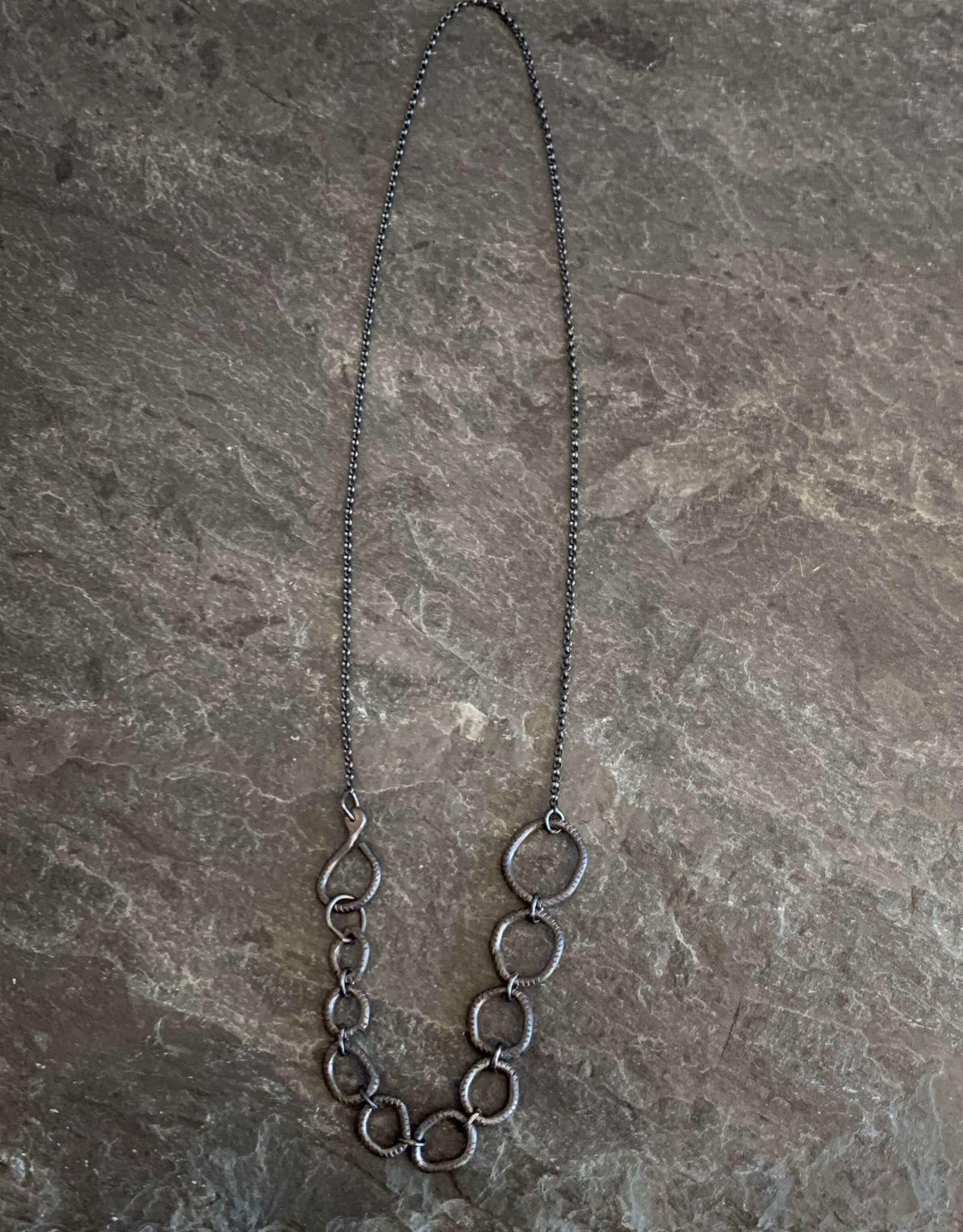 Sharon Z Jewelry Sharon Z Jewelry Open Stone Link Necklace