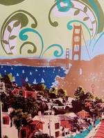 Hilary Williams Hilary Williams - Mounted Digital Print - View of the Bridge