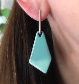 Jenny Windler Jewelry Jenny Windler Kite Earrings Seafoam