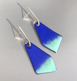 Jenny Windler Jewelry Jenny Windler Kite Earrings Ultramarine