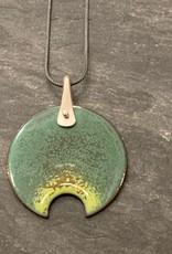 Jenny Windler Jewelry Jenny Windler Splash Necklace Blue Enamel