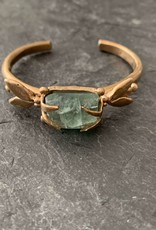 Gretchen Walker Jewelry Gretchen Walker Bronze Fly Cuff with Kyanite