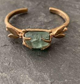 Gretchen Walker Jewelry Gretchen Walker Bronze Fly Cuff with Kyanite