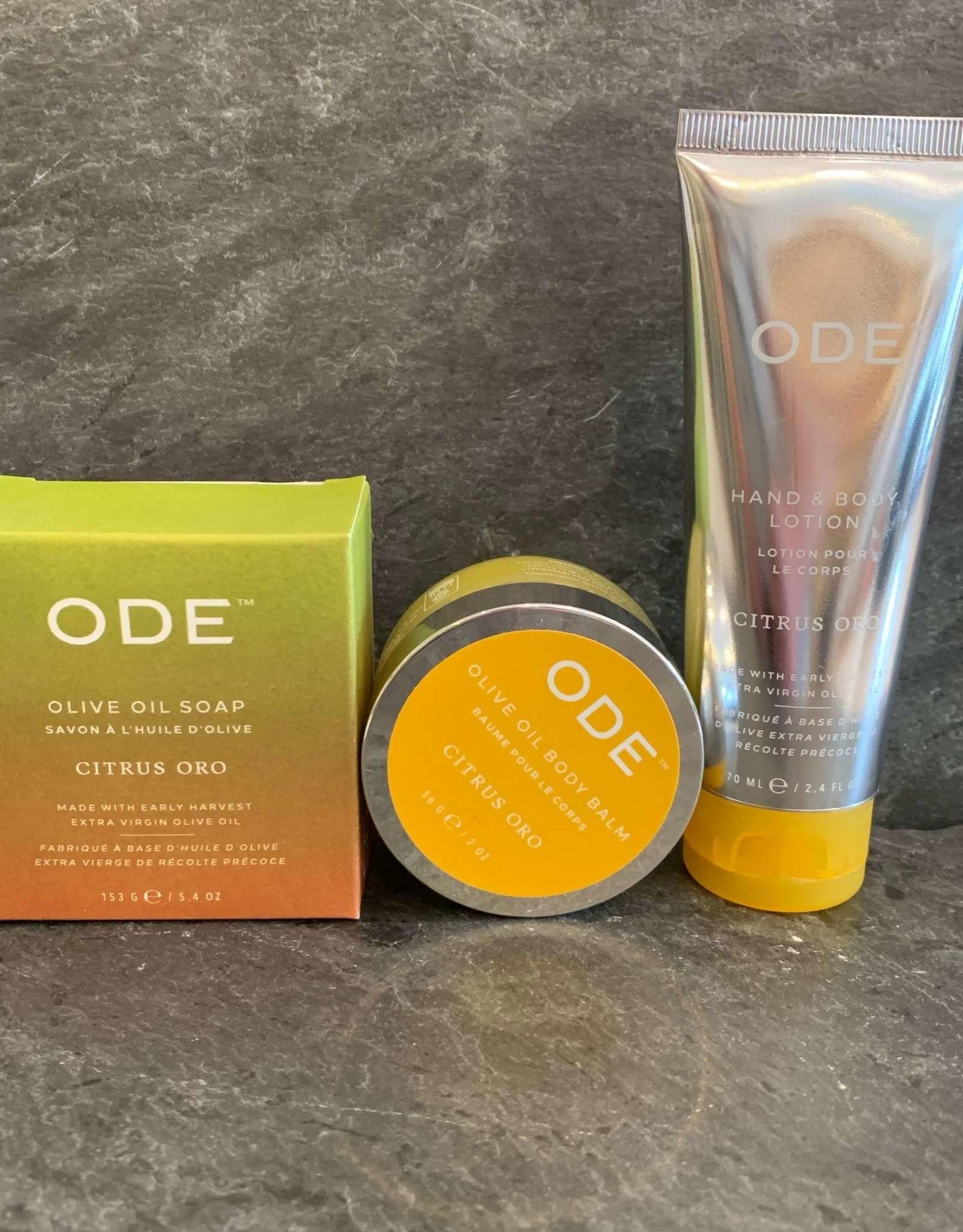 McEvoy ODE Citrus Oro Collection