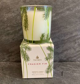 Thymes Thymes Frasier Fir Pine Needle Design Poured Candle
