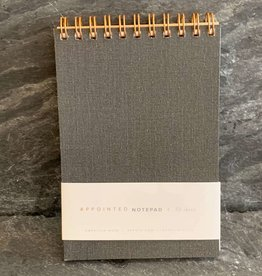 Appointed Appointed Notepad - Charcoal