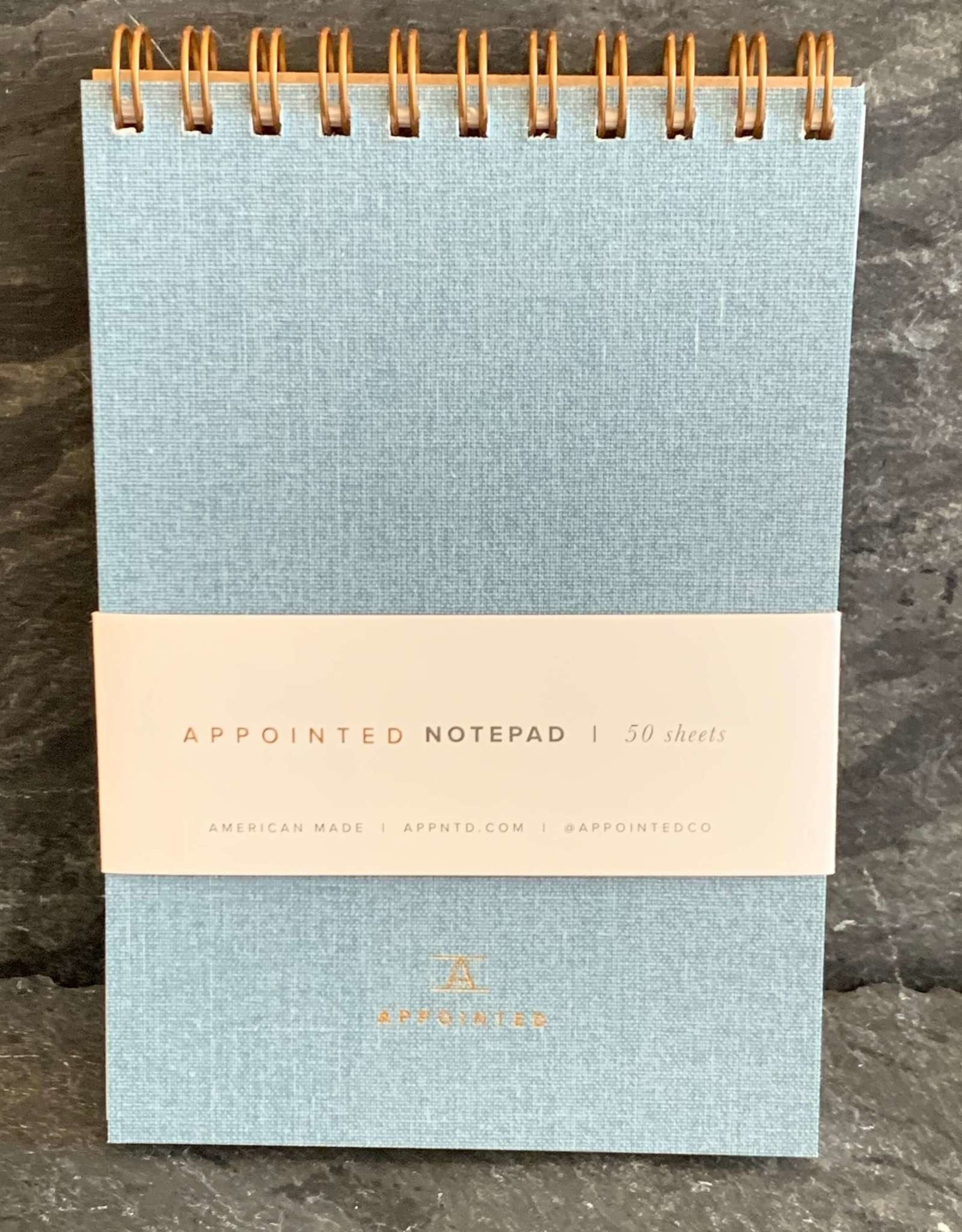 Appointed Appointed Notepad - Chambray