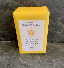Marianella Jaboneria Marianella Orange & Teakwood Soap Bar