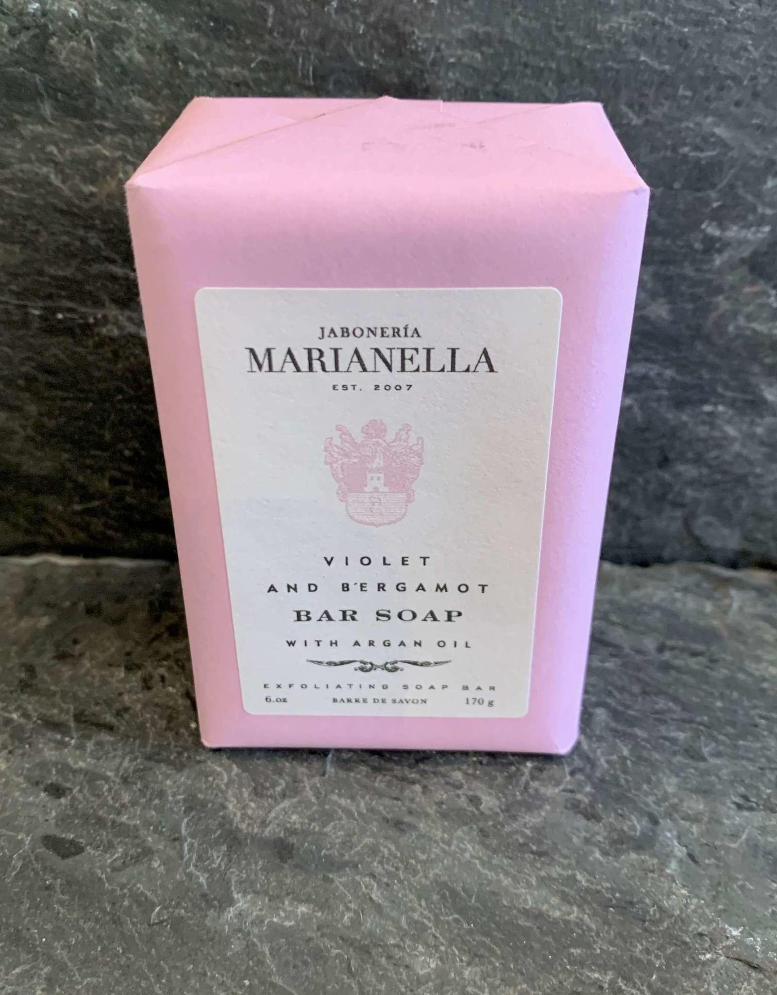 Marianella Jaboneria Marianella Violet & Bergamot Soap Bar