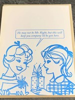 Blue Barnhouse Blue Barnhouse - 'Til He Gets Here  Humorous Card