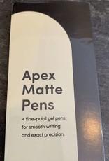 Poketo Poketo Apex Pen  4 Pack Matte