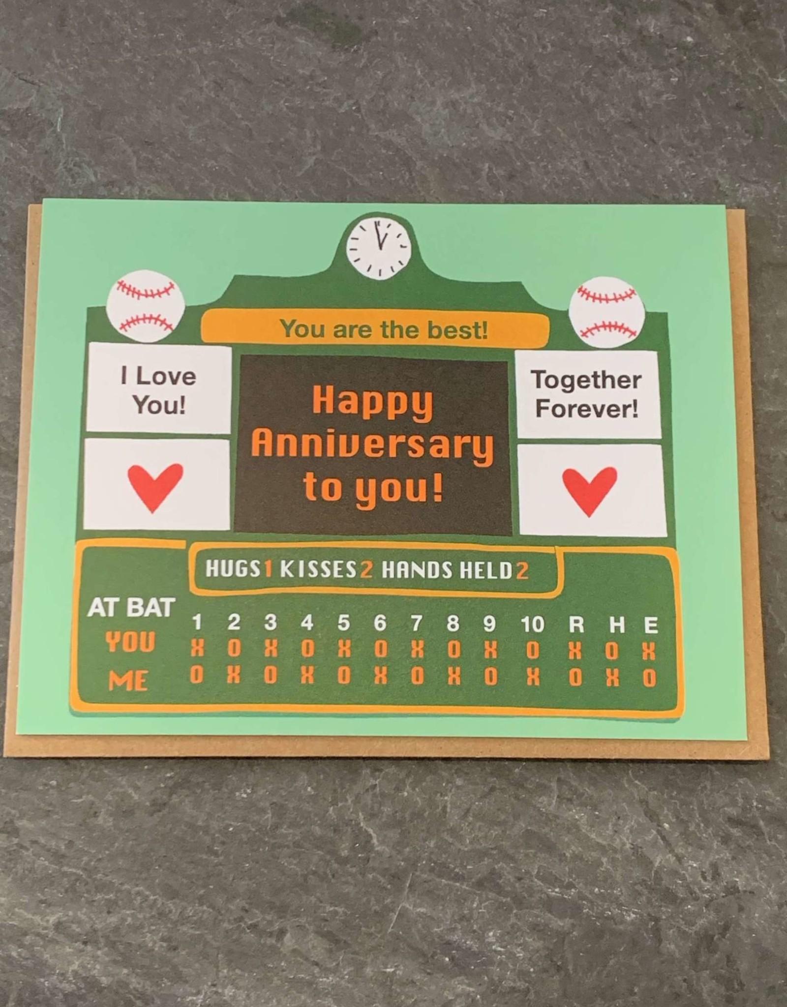 La Familia Green Anniversary Card La Familia Green