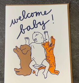 La Familia Green Baby Card La Familia Green