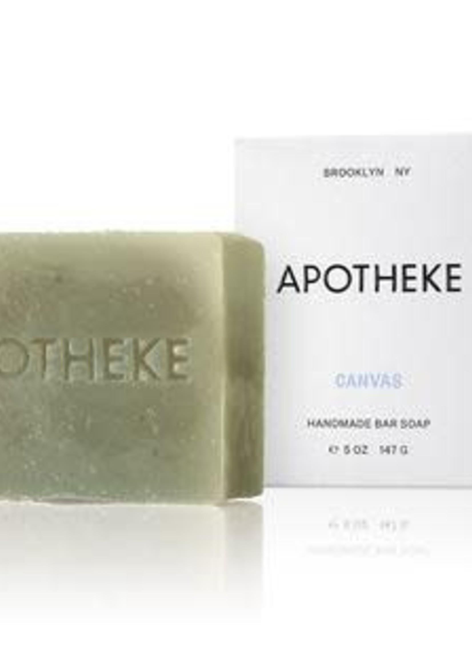 Apotheke Apotheke Canvas Bar Soap