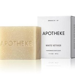 Apotheke Apotheke White Vetiver Bar Soap