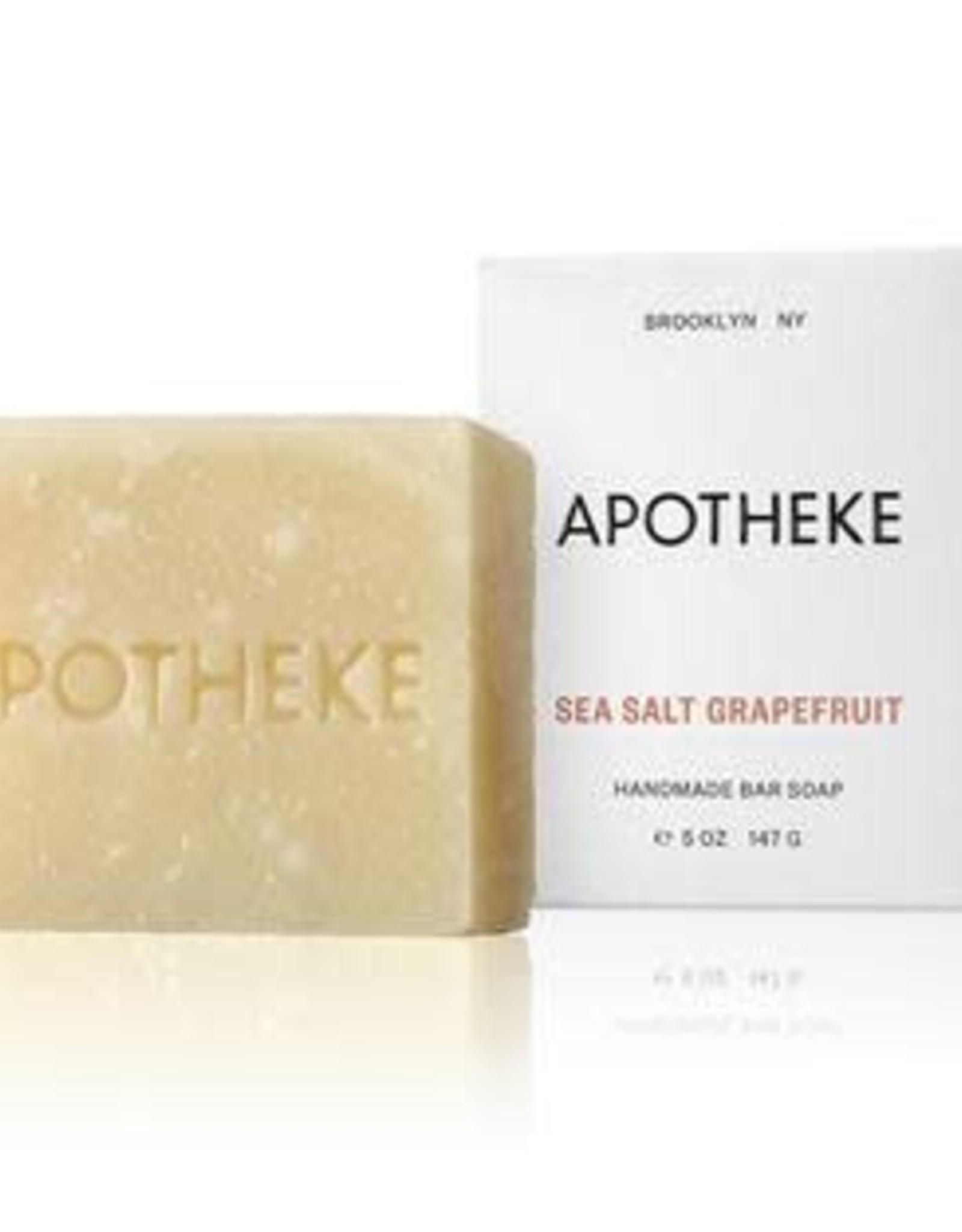 Apotheke Apotheke Sea Salt Grapefruit Bar Soap