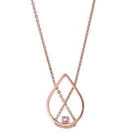 Vanessa Gade Vanessa Gade Petal Necklace Petite with Pink Tourmaline