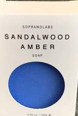 SopranoLabs SopranoLabs Sandalwood Amber Vegan Soap