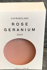 SopranoLabs SopranoLabs Rose Geranium Vegan Soap