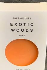 SopranoLabs SopranoLabs Exotic Woods Vegan Soap