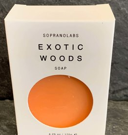 SopranoLabs SopranoLabs Exotic Woods Vegan Soap