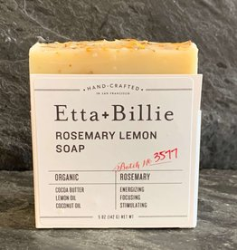 Ette+Billie Etta + Billie Rosemary Lemon Soap