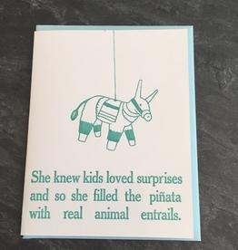 Zeichen Press Zeichen Press - Animal Entrails Humorous Card