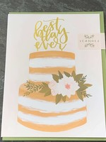 One Canoe Two One Canoe Two - Best Day Ever Wedding Card
