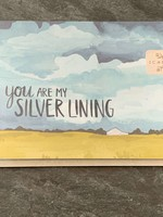 One Canoe Two One Canoe Two - Silver Lining Skies Love Card