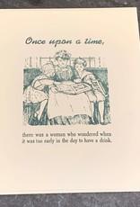 2.00 Humorous Card Zeichen Press