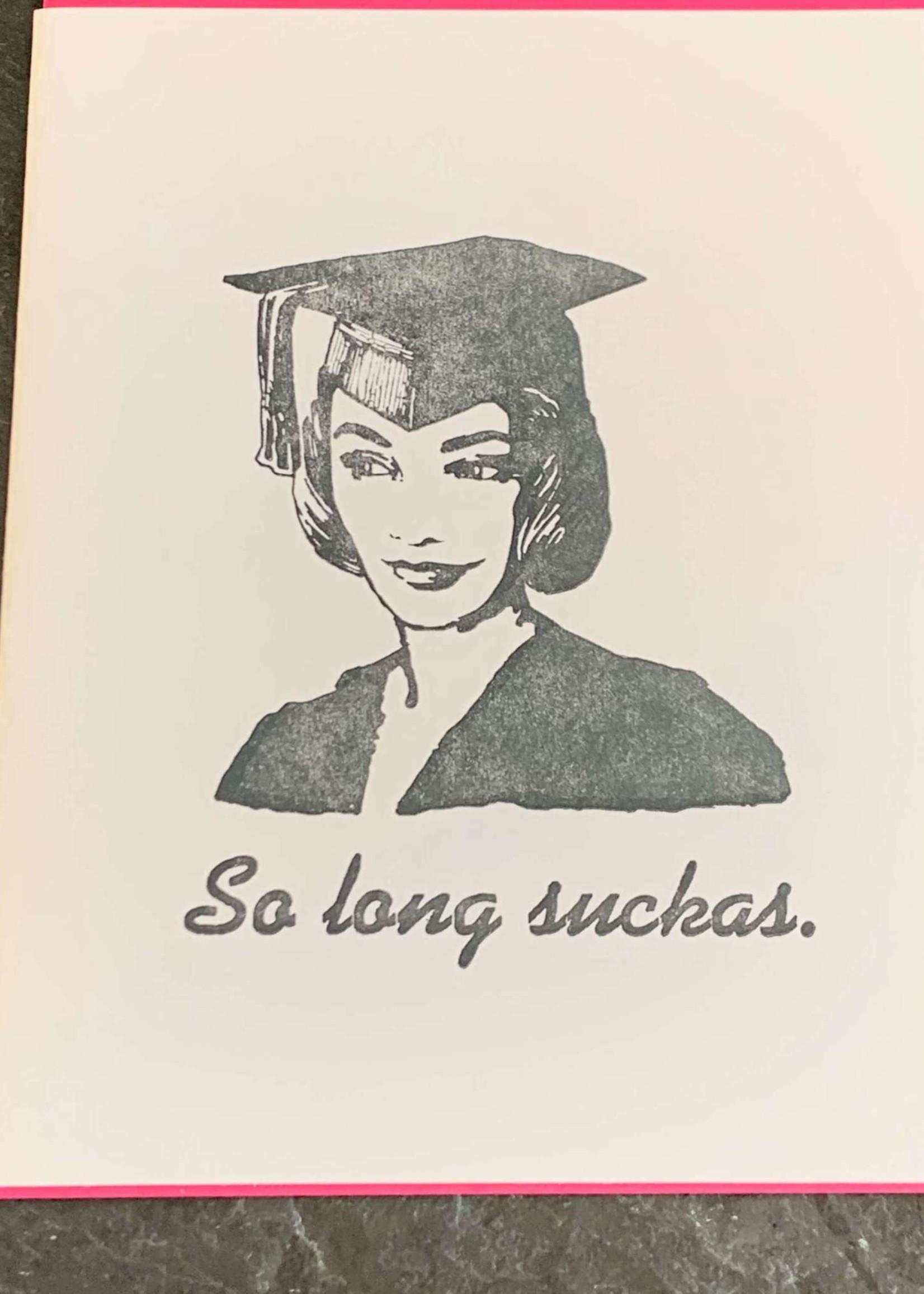 Zeichen Press Grad Girl Graduation Card